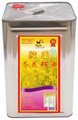 金雞芥花籽油13L