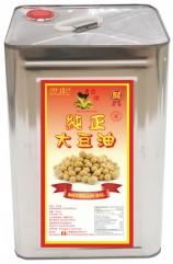 金雞純正大豆油15公升