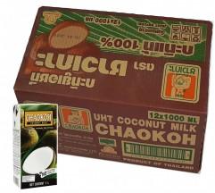 巨人椰漿1公升 x12盒(紙包)