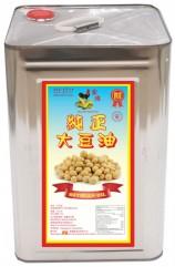 金雞純正大豆油17公升
