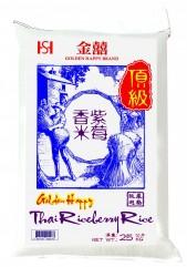 金囍頂級泰國紫莓香米 25公斤