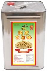 金雞純正大豆油_14公升